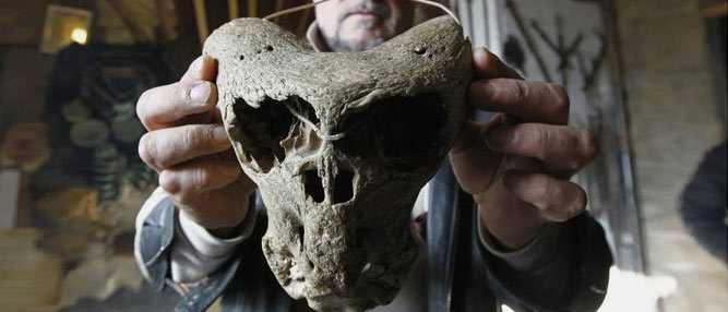 O mistério dos crânios bizarros descobertos nas montanhas da Russia