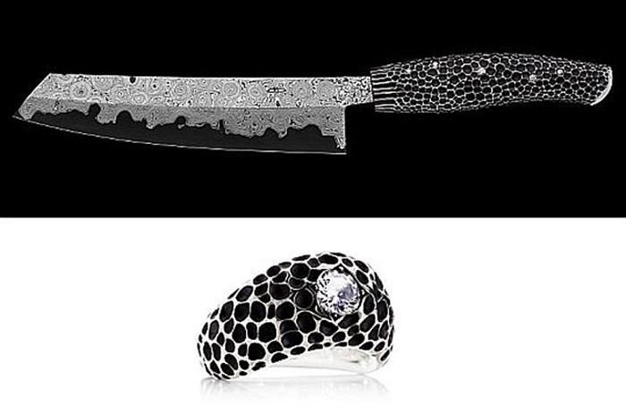 Algumas das facas mais caras do mundo
