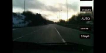 Disco voador registrado pela polícia