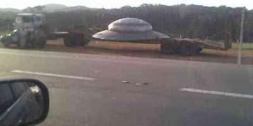 Disco voador caiu no Brasil?