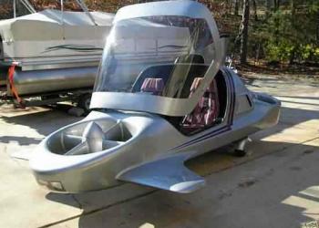 O carro voador no ebay