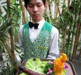 Um restaurante especializado em servir… Adivinha o quê?