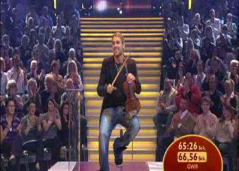 O mais rapido violinista do mundo