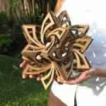 Papercraft: Aprenda a fazer esta incrível escultura geométrica