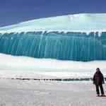 A onda de gelo