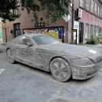BMW de pedra