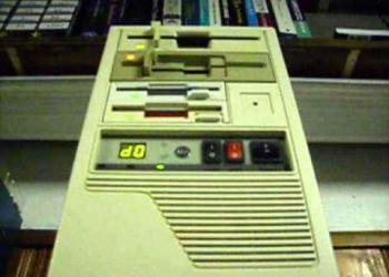 Computador executa Toccata e Fuga lendo disquetes
