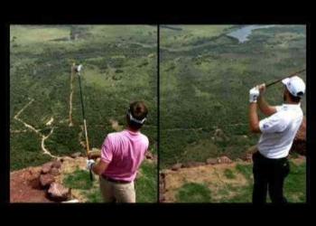 Extreme golf é iso aí!