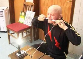 Slavisa Pajkic, o bizarro homem elétrico