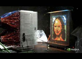 Retrato da Mona Lisa sendo feito numa fração de segundo