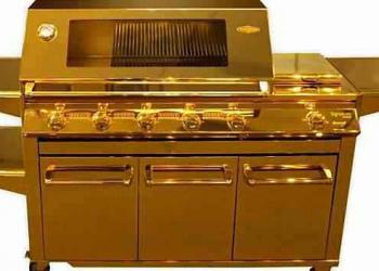 Churrasqueira de ouro