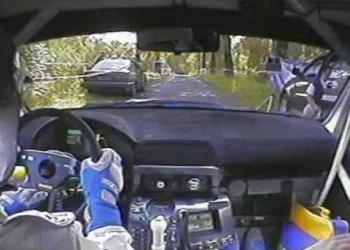Piloto de rally manda muito na pista