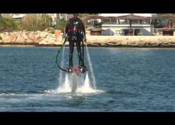 Flyboard Zapata – Brincando de golfinho