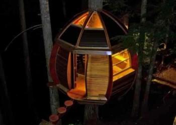 Casa na árvore de Joel Allen