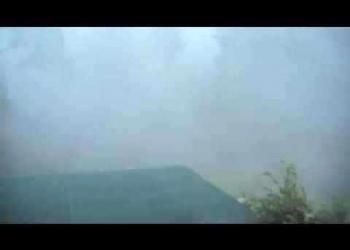 A maior chuva que eu já vi
