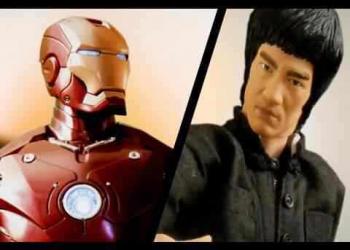 O combate do século: Homem de Ferro versus Bruce Lee