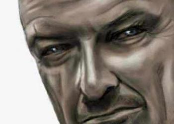 Desenhando John Locke de LOST