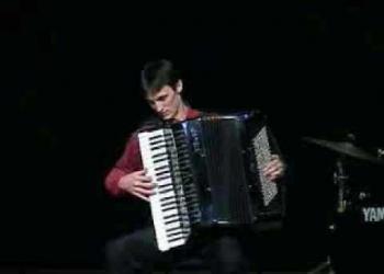 O tocador de acordeon (sanfoneiro)
