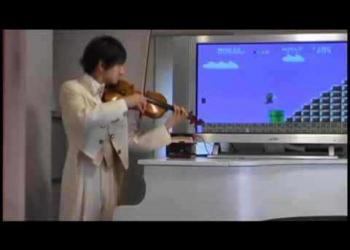 O violinista do Super Mario