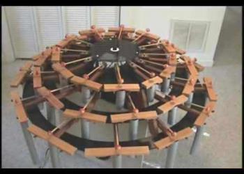 Marimba eletrônica feita em casa
