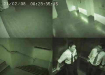 A aparição no elevador