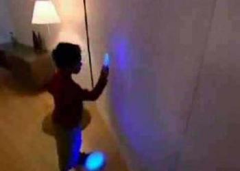Laser Light Crayons