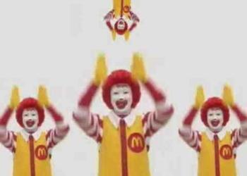 A hora do pesadelo, com Ronald McDonald