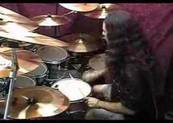 O baterista possuído