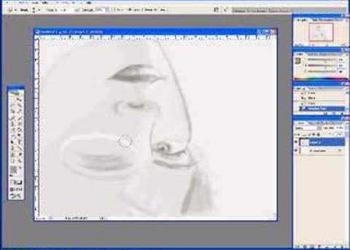 Pintando de cabeça para baixo