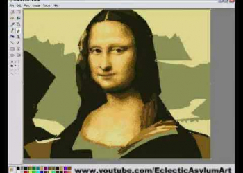 Mona Lisa no MS Paint!