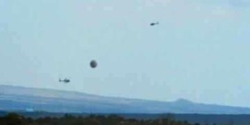 Helicópteros do governo cercam ufo?