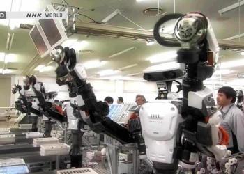 Um mundo de robôs
