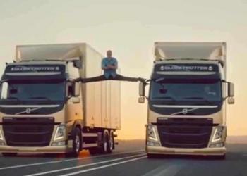 Van Damme no Epic Split da Volvo