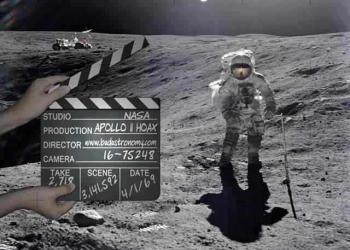 É verdade que o Homem nunca esteve na Lua?