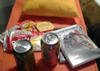 Lipton Ice Tea me mandou presentes
