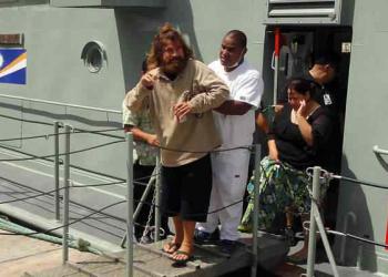 O náufrago que passou mais de um ano à deriva é resgatado