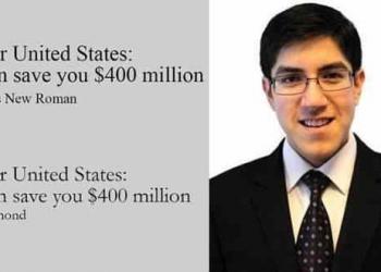 Projeto escolar de aluno de 14 anos economizaria 400 milhões de dólares do Governo dos EUA