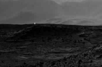 Sonda da NASA registra luz misteriosa em Marte