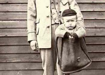 Mandou o filho pelo correio!