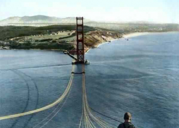 O Trabalhador da Golden Gate Bridge