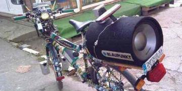 A bicicleta do Fom-fom