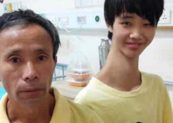 Conheça o chinês que tem um pescoço gigante