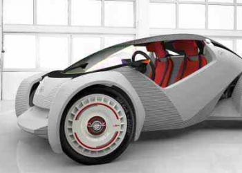 O carro impresso em 3d