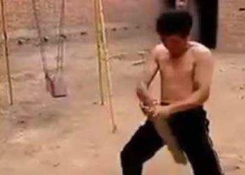 Bolas de aço: Veja como é o treino do Kung Fu para deixar o atleta à prova de chute no saco