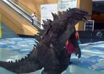 Como virar o Godzilla