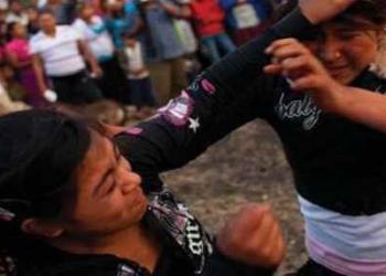 Cidade no México institui porradaria de mulher para fazer chover
