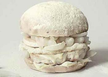 Hambuguer branco
