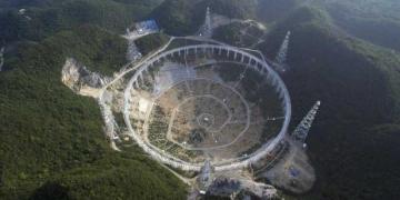 Corrida pelo Et? China assume que está fazendo o maior radiotelescópio do mundo
