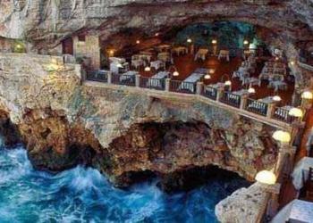 Restaurantes espetaculares onde a comida é só um detalhe