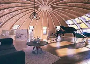 Mais uma bela casa esfera